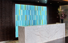 Manhattan Residential Tower | Architectural Art Glass