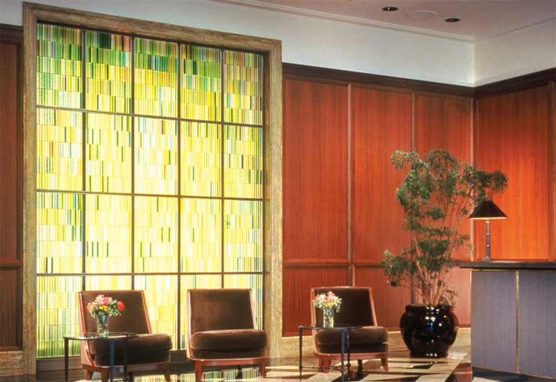Hospitality Art Glass: The Peninsula Hotel