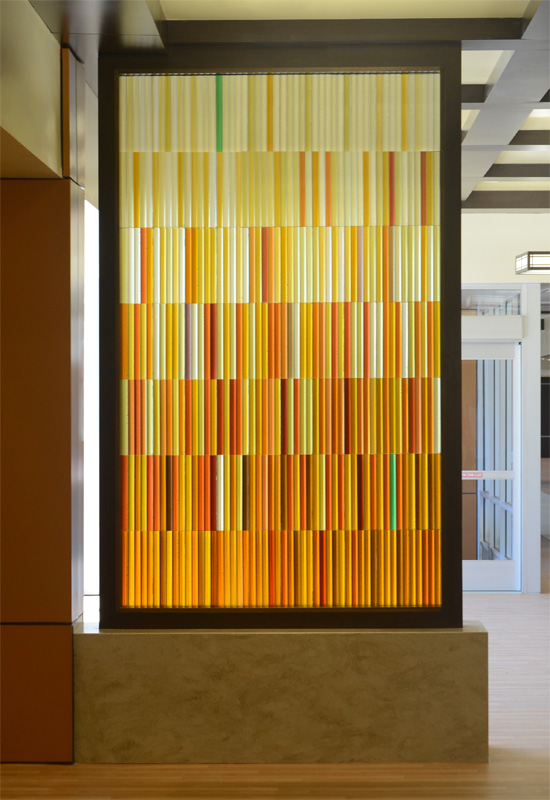 Art Glass Partition – Tuscon Medical Center