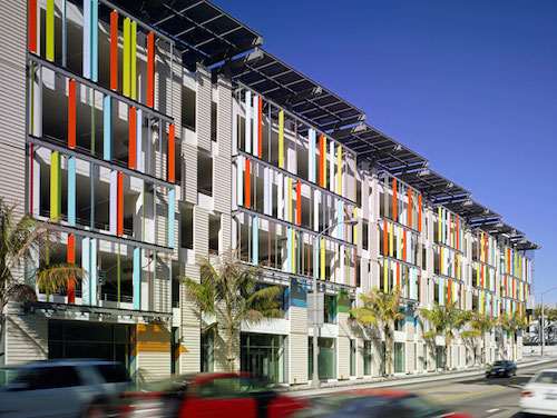 Park Behind Colorful Glass Panels Paul Housberg