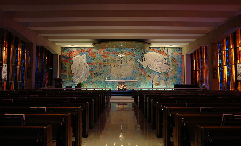 Stained Glass Panels At The U S Air Force Academy Cadet