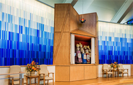 Liturgical Glass Art | Temple Adath Israel
