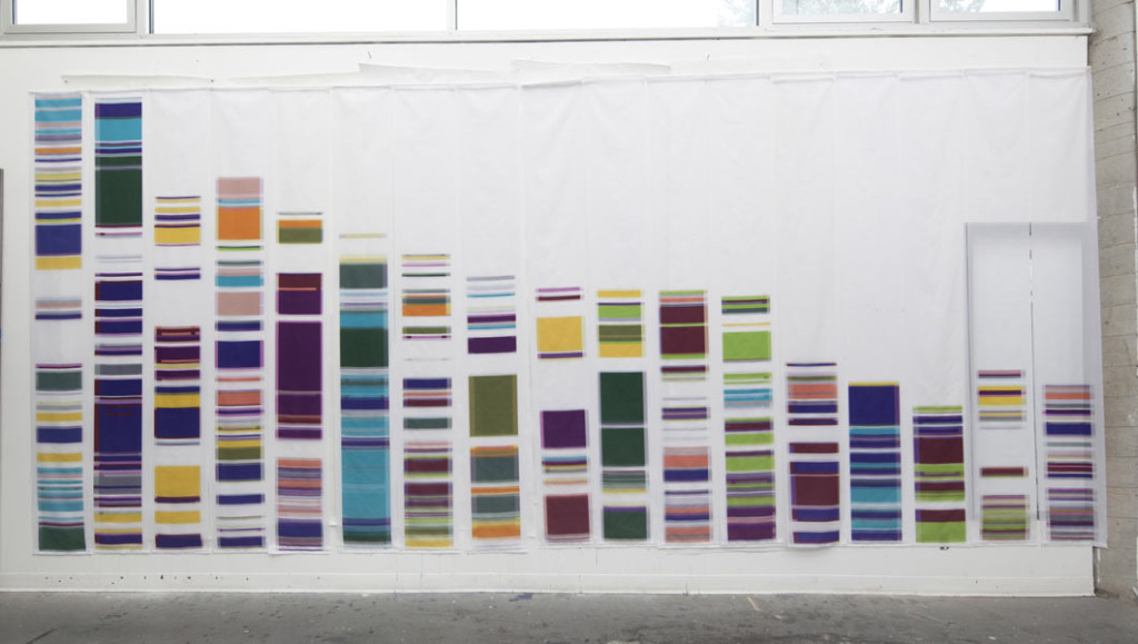 More DNA Inspired Art: Geraldine Ondrizek\'s Chromosome Painting ...