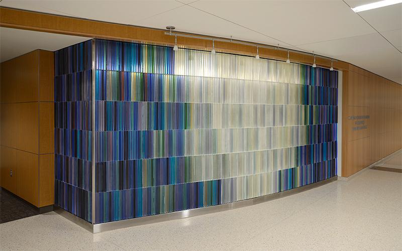 Hospital Chapel Glass Art at Houston Methodist Hospital